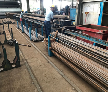 Steel Bar Cutting and Bending