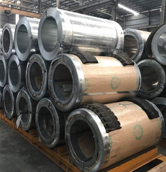 Steel Plate In Coil Form